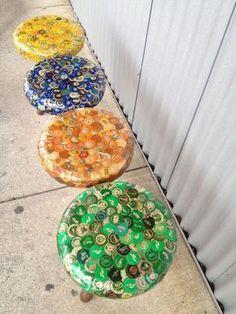 Reusing aluminium bottle caps | ecogreenlove