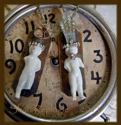 I believe this little gal on the right is hanging with my necklaces.  :-)  Sure looks like mine.