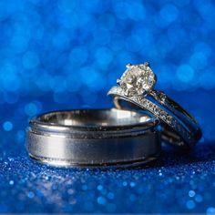 Romantic Blue Ring Bling