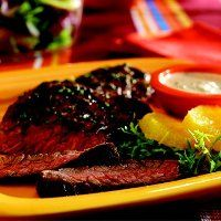 Recipe Book - Steaks - Grilled Skirt Steak with Creamy Citrus Sauce