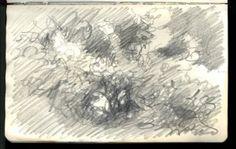 Apple Study 9 5 x 8 inches, Sketch Pad, Florida Keys 08