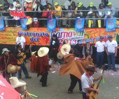 Caraval de Cajamarca, crusado el alcalde.