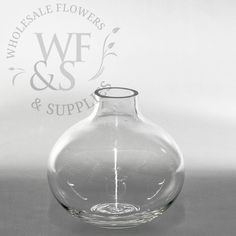 Small Round Glass Bud Vase - Wholesale Flowers and Supplies Glass Milk Bottles, Wine Glass, Glass Vase, Wholesale Flowers And Supplies, Vase With Lights, Wedding Vases, Wedding Decor, Wedding Ideas, Round Vase