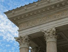Ancient Roman Architecture in Nimes France