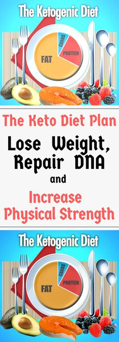 The Keto Diet Plan – Lose Weight, Repair DNA and Increase Physical Strength!!!! !!!