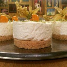 Limetkový cheesecake