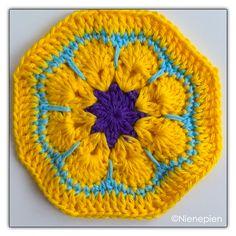 Ravelry: African Flower Octagon pattern by Nina Tearney