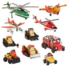 Planes: Fire Rescue Deluxe Figure Play Set