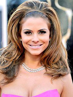 Love it! Maria Menounos retro hairstyle