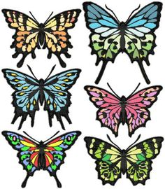 Advanced Embroidery Designs - Applique Butterfly Set