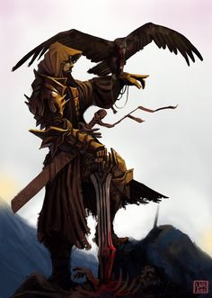 The falcon is one of the main symbols of the Resistance as they are used to carry communications. The falcon is also the avatar of Edali, goddess of magic and keeper of nature - very important to Ronan culture.