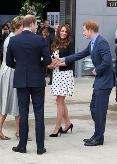 William, Kate and Harry....