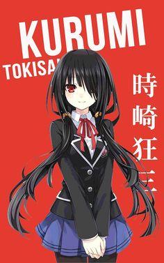 Tokisaki Kurumi (School) ~ Korigengi   Wallpaper Anime