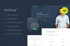MultiUp - Multi Purpose WordPress. WordPress Business Themes. $49.00