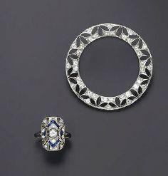ART DECO JEWELRY Art Deco Earrings, Art Deco Jewelry, Jewelry Design, Jewelry Box, Jewelry Making, Art Nouveau, Antique Jewelry, Vintage Jewelry, Diamond Brooch