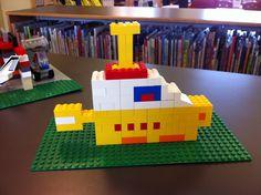 LEGO Club April 2013  Yellow Submarine