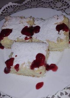 Megláttam ezt a receptet és rájöttem, hogy ez nálunk is nagy kedvenc Hungarian Food, Hungarian Recipes, Cheesecake, Sweets, Kochen, Cheesecake Cake, Sweet Pastries, Hungarian Cuisine, Goodies