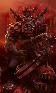 THE RED WAAAGH: Orks by nachomolina on deviantART