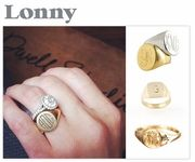 Ariel Gordon Jewelry's Classic Signet Ring #AGJEveryday #ClassicSignetRing www.ArielGordonJewelry.com - Featured by Lucky, Shape, Who What Wear & Lonny
