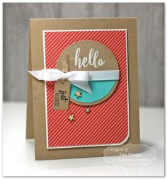 Hello by Jen Shults for Share Joy Challenge 4
