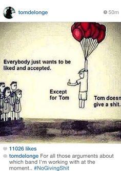 Tom Delonge Angels and Airwaves Blink 182.