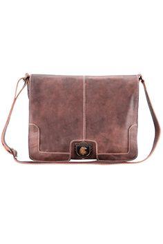 Men's leather messenger bag for laptop Nordweg... Bolso mensajero de hombre para portátil en cuero Nordweg...