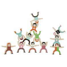 Stapelspiel Akrobaten, aus Holz von Vilac gleich hier ansehen!