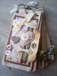 tag size scrapbook