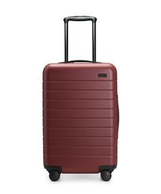 The perfect carry-on, with an unbreakable (and super light) shell and included USB battery charging. Sized to fit on all major airlines.