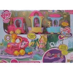 My Little Pony MOTORIZED FRIENDSHIP EXPRESS TRAIN AROUND TOWN Playset w 3 Figures, 4 Animals & More!