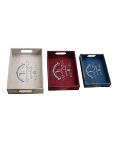 love these anchor trays! http://www.zulily.com/invite/tomkatstudio