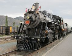 Old CN steam train in Kamloops BC. Take a Ride.especially at Sun Set. Great Places, Places To Go, Canadian National Railway, Train Engines, Light Rail, Steam Locomotive, Model Trains, British Columbia, Planes