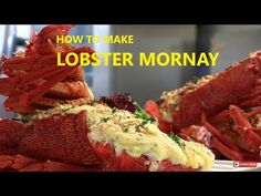 How to cook Paul's Lobster Mornay Shellfish Recipes, Seafood Recipes, Cooking Recipes, Crab And Lobster, Fish And Seafood, Lobster Mornay, Mornay Recipe, How To Make Lobster, Mustard Cream Sauce