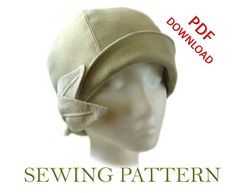 SEWING PATTERN - Grace, 1920s Cloche Hat for Child or Adult