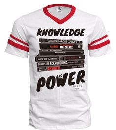 BLACK KNOWLEDGE IS POWER UNISEX JERSEY SHIRT – HAUTE GREEKS COUTURE LLC