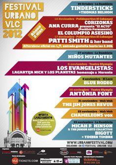 Festival Urbano VLC 2012 en Valencia