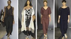 Dancing lengths fabric from Diana Orving @ Stockholm Fashion Week