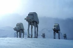 Watch how stop-motion artists brought AT-ATs to life for the Battle of Hoth
