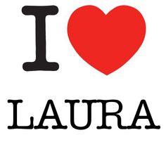 I Heart Laura #love #heart