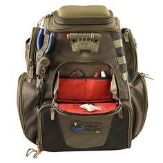 Fishing Tackle Backpack Wild river Box Storage Trays Waterproof Tek Nomad Large