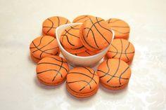 Basket Français Macaron, sportif français Macaron - 1 dizaines