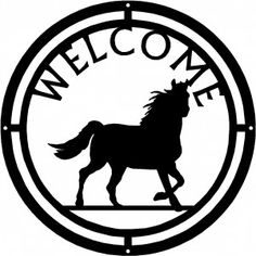 Equestrian Gifts Metal Welcome Sign, Equestrian Gifts, Ferrari Logo, Moose Art, Logos, Ferrari Sign, Logo