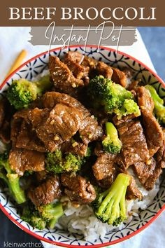 Want a quick & easy pressure cooker recipe that has dinner on the table in just 35 minutes? Check out this delicious Instant Pot Beef Broccoli! So good! Best Easy Dinner Recipes, Easy Meat Recipes, Quick Easy Dinner, Side Dish Recipes, Asian Recipes, Savoury Recipes, Amazing Recipes, Easy Pressure Cooker Recipes, Instant Pot Pressure Cooker