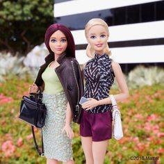 Stepping up our Saturday style! #barbie #barbiestyle