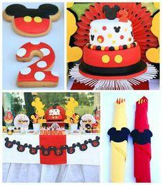 Fiestas tema Mickey Mouse