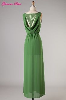 Green with Envy Maxi Dress- Visit GlamourLilies.com for more details!