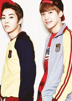 xiumin & baekhyun #exo