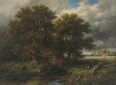 Willem Roelofs - Voor het onweer