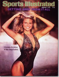 Cheryl+Tiegs+1983+Swimsuit+Cover | The Best Sports Illustrated Swimsuit Edition Covers of All Time