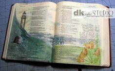 **Great resource for different tools to use in Illustrated Art** Bible Journaling - getting started I started art journaling in my Bible recently, and just wanted to put everything I've learned in a blog post for others who may be interested in doing the same thing. Mama Dini's Stamperia: Bible Journaling - getting started